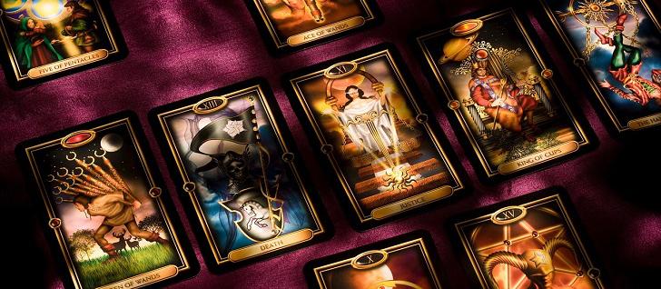 rader med gratis tarot kort