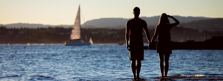 upplev dejting gratis vid havet
