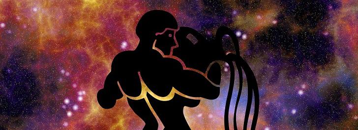 stjärnhimmel med horoskop