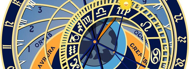 bild på zodiak med gratis horoskop