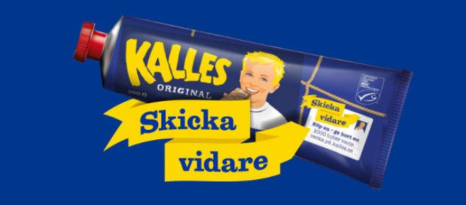 Ge en tub Kalles kaviar till en vän