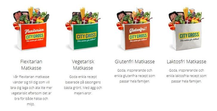 Matkasse med rabatt från City Gross