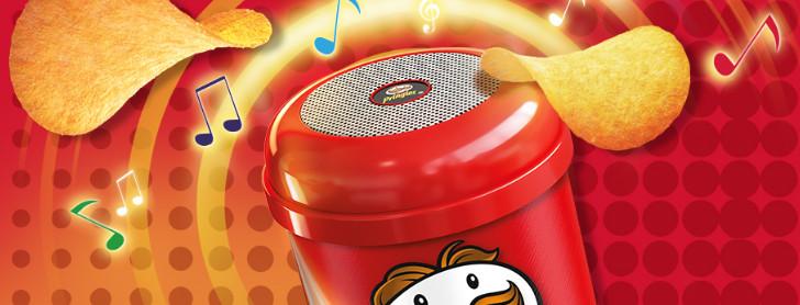 pringles chips högtalare