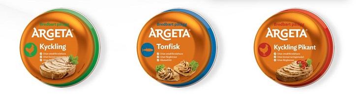 Testa något nytt från Argeta
