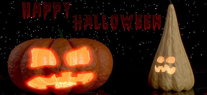 Skriv ut en inbjudan till halloween