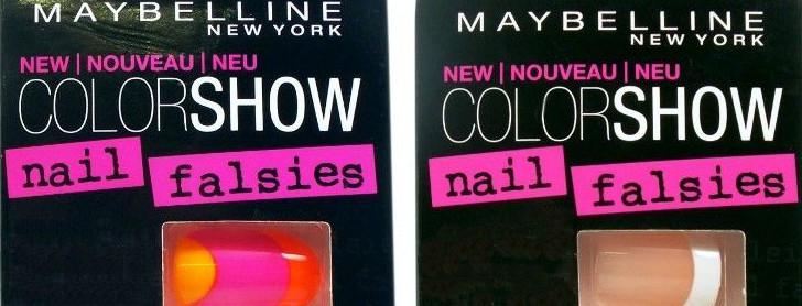 maybelinne lösnaglar color show