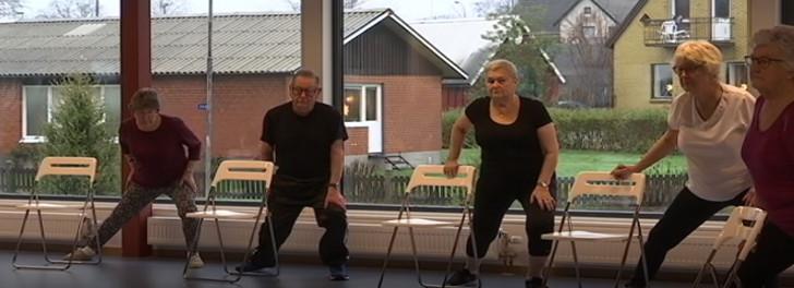 träning för pensionärer i hörby