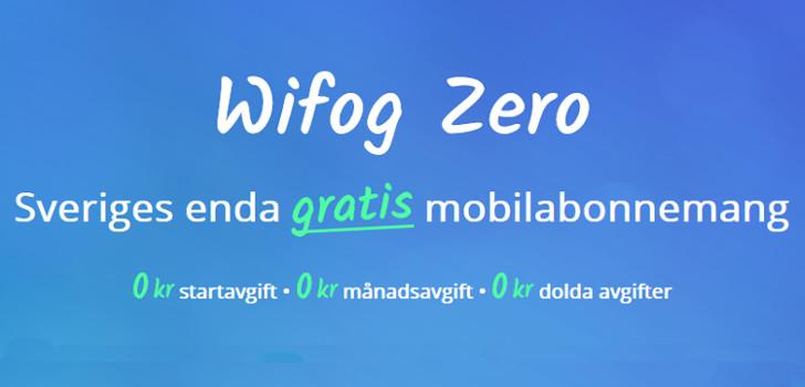 gratis mobilabonnemang från wifog