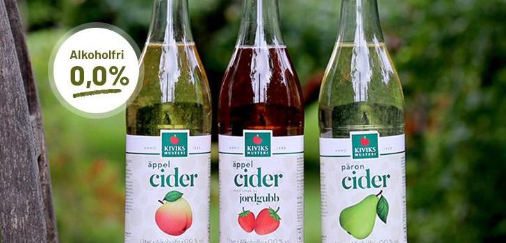 alkoholfri cider från kiviks