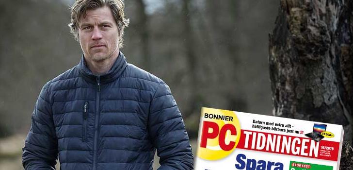 pc-tidningen och en höstjacka