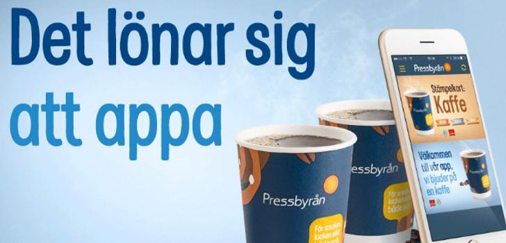 gratis kaffe hos pressbyrån