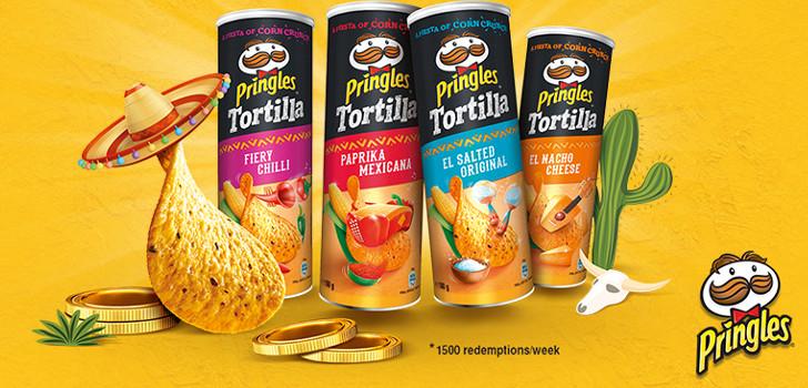 gratis tortilla chips från pringles