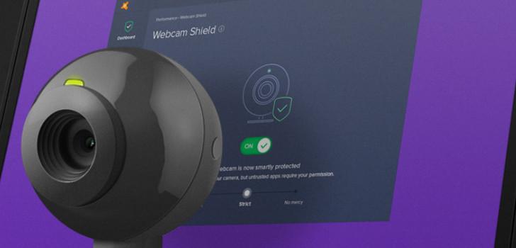 avast skydda webbkamera