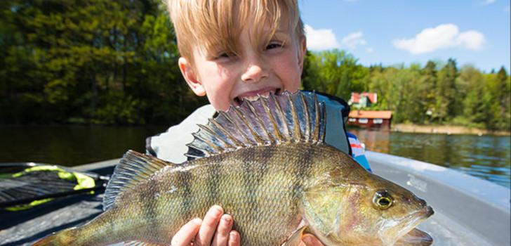 gratis fiske för barn