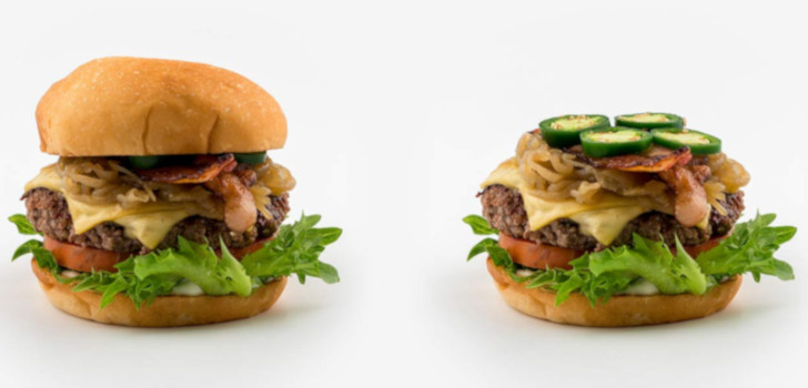 bastard burgers kött och fläsk