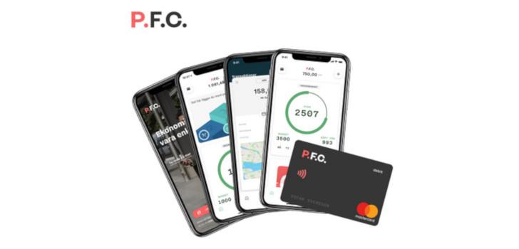 pfc app med mastercard